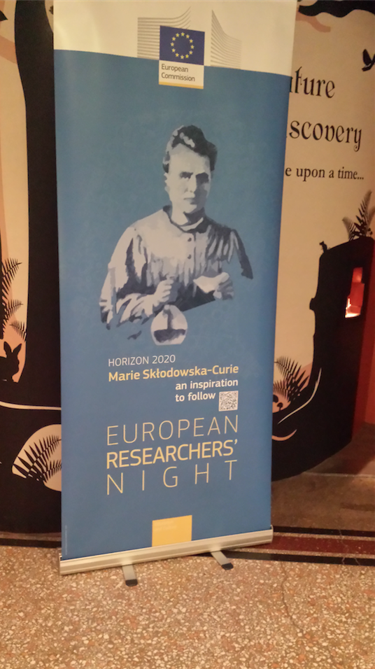 Banner for European Researchers' Night