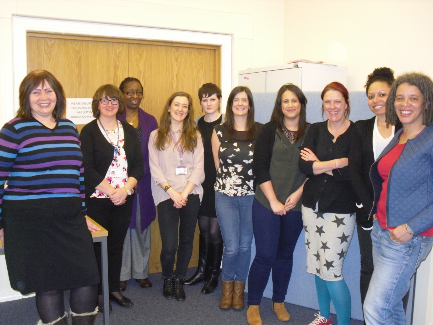 CaFI therapists attending the Just Psychology cultural competency training day
