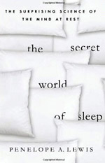 Image: Book cover the secret world of sleep