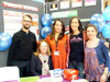 Members of the team at Manchester Science Festival